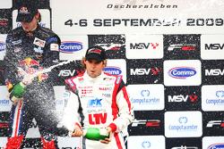 Mirko Bortolotti and Andy Soucek on the podium