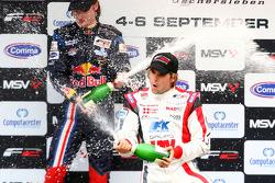 Mirko Bortolotti et Andy Soucek sur le podium