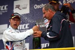 Andy Priaulx, BMW Team UK, BMW 320si and Dr. Klaus Draeger