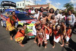 La Ford Focus RS WRC de Jari-Matti Latvala était le centre des attention