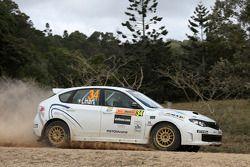 Gianluca Linari et Andrea Cecchi, Subaru Impreza WRX Sti