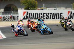 Jorge Lorenzo, Fiat Yamaha Team, Loris Capirossi, Rizla Suzuki MotoGP