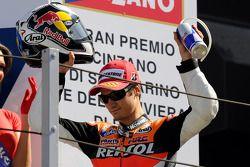 Podio: tercero Dani Pedrosa, Repsol Honda Team