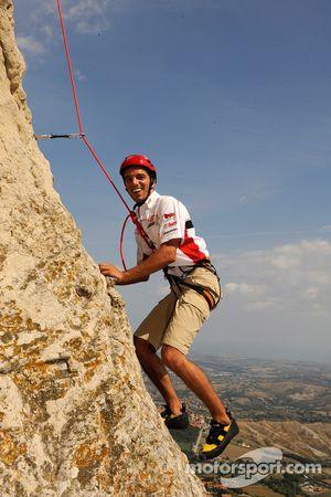 Alex De Angelis, San Carlo Honda Gresini visita San Marino