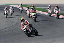 Alex De Angelis, San Carlo Honda Gresini con jóvenes pilotos en pista