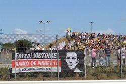 Fan banner para Randy De Puniet, LCR Honda MotoGP
