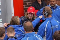 Ganador, Brendon Hartley, Carlin Motorsport, Dallara F308 Volkswagen