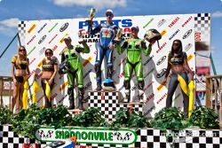 Jordan Szoke claimed his 6th career national title and his 4th in a row but Brett McCormick was the winner of both the 600 and Superbike class races