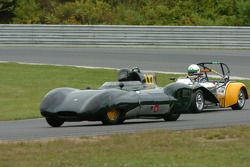 Richard Fryberger Lotus XI et la Lotus 7 de Paul Stinson