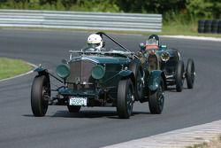 Nils Westberg- 1935 Bentley et la Bugatti 37A de Thomas Clifford