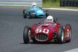 Roger Mandeville, 1955 Lancia et la Stanquellini ofde Bill Gelles