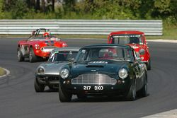 Lawernce Macks- 62 Aston Martin DB4, Bob Tkacik Triump GT6, John Incantalupo et Jonathan Einhorn 1964 Austin Healey 3000
