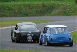 James Freeman- 1960 Aston Martin DB4 GT and the Mini of David Reid