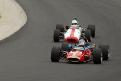 Roy Walzer 1965 Techno F2 and the #57- Brabham BT-29 of Chris Cunningham