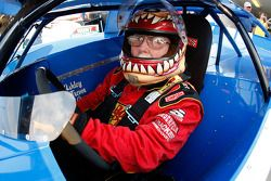 Red Farmer, driver of the #97 prepares to drive