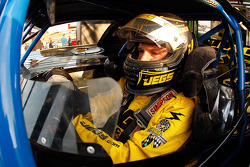 Kenny Wallace, driver of the #36 prepares to drive