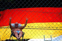 A German fan
