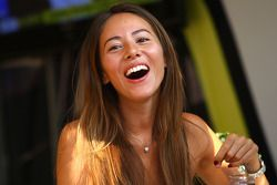 Jessica Michibata, girlfriend of Jenson Button, BrawnGP