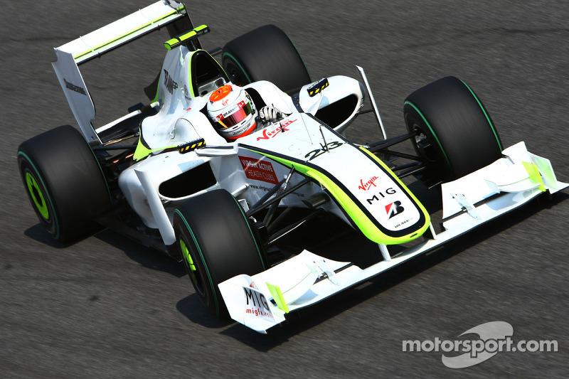 2009: Rubens Barrichello, BrawnGP, BGP001
