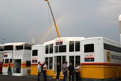 A rainbow over Renault