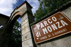 Parco Di Monza entrance