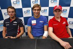 Vitaly Petrov, Giedo Van der Garde et Nico Hulkenberg