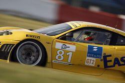 #81 Easyrace Ferrari F430 GT: Roberto Plati, Maurice Basso, Gianpaolo Tenchini
