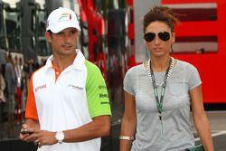 Vitantonio Liuzzi, Force India F1 Team ve kız arkadaşı
