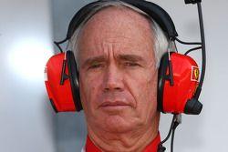 Rory Byrne, Scuderia Ferrari, Conception et développement Consultant