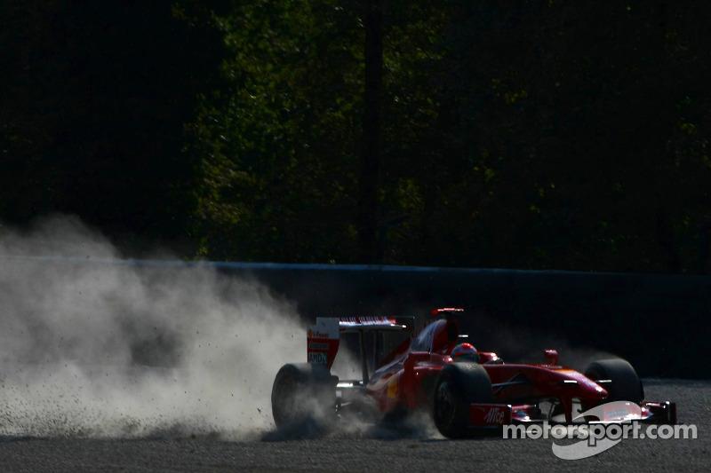 Giancarlo Fisichella, Ferrari F60 –Italia 2009–: 9º