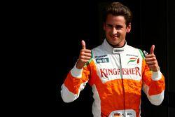 Адриан Сутиль, Force India F1 Team, второе место