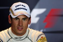 FIA press conference: second place Adrian Sutil, Force India F1 Team