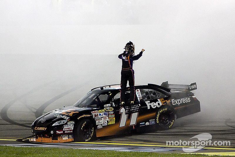2009, Richmond 2: Denny Hamlin (Gibbs-Toyota)