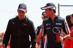 Jaime Alguersuari, Scuderia Toro Rosso, Kazuki Nakajima, Williams F1 Team