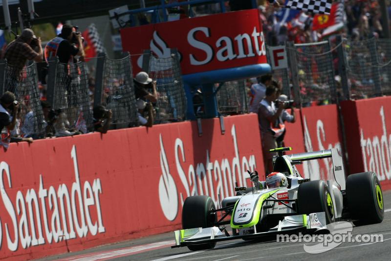 - A vitória de Barrichello em 2009 é também a última de um brasileiros na Fórmula 1.