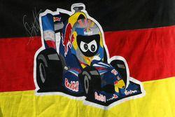 Баннер для Себастьяна Феттеля, Red Bull Racing