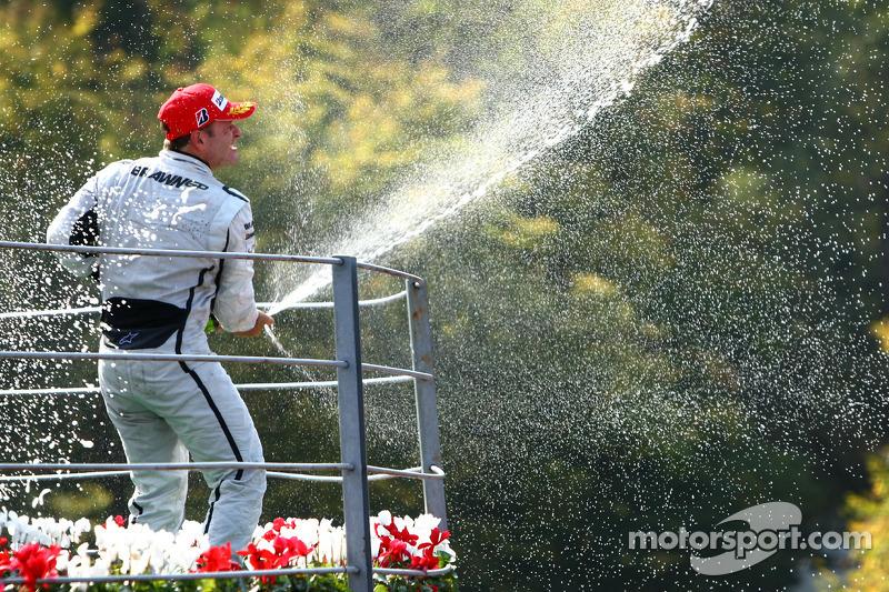 Fora da Ferrari, Barrichello voltou a ganhar pela Brawn GP em 2009, no GP da Europa em Valência...