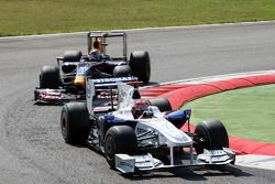 Robert Kubica, BMW Sauber F1 Team, Sebastian Vettel, Red Bull Racing