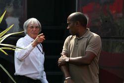 Bernie Ecclestone, Anthony Hamilton, Father of Lewis Hamilton