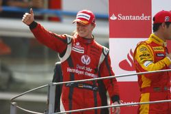 Nico Hulkenberg fête son titre en GP2 Series