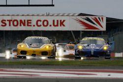 #92 JMW Motorsport Ferrari F430 GT: Rob Bell, Gianmaria Bruni, #99 JMB Racing Ferrari F430 GT: John Hartshorne, Peter Kutemann