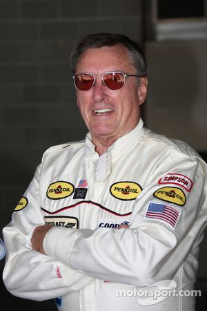 Le triple vainqueur de l'Indy 500Johnny Rutherford