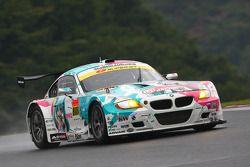 #808 Hatsune Miku Studie Glad BMW Z4: Yasushi Kikuchi, Shozo Tagahara