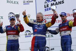 Victoire de Olivier Panis et Nicolas Lapierre avec Hugues de Chaunac