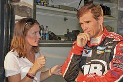 Newlyweds Erin Crocker and Ray Evernham