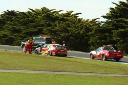 #67 Supercheap Auto Racing: Tim Slade, Owen Kelly suffers car problems