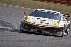 #89 Hankook - Team Farnbacher Ferrari F430 GT: Pierre Kaffer, Christian Montanari