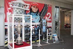 Honda Collection Hall: display of Danica Patrick