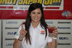 Danica Patrick, Andretti Green Racing avec un coktail