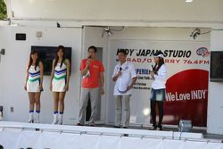 Roger Yasukawa, Dreyer & Reinbold Racing, invité d'un talk-show